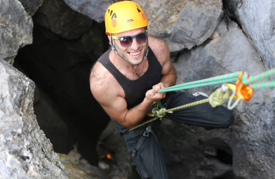 Abseiling 4